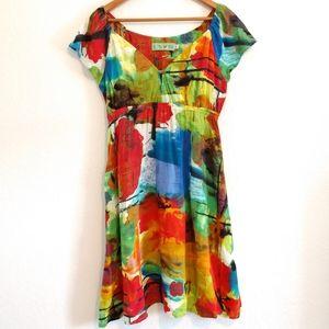 Jams World tuscany multi color dress